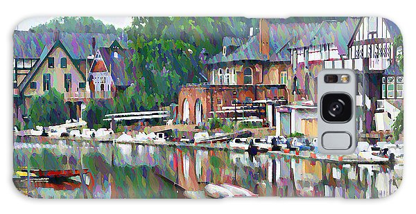 Joseph Galaxy Case - Boathouse Row In Philadelphia by Bill Cannon