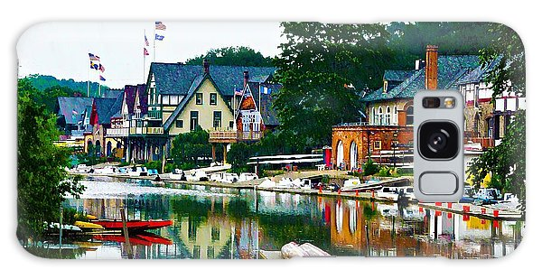 Boathouse Row In Philly Galaxy Case