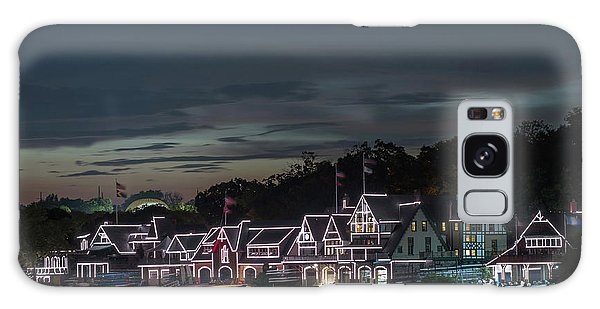 Boathouse Row Philly Pa Night Galaxy Case