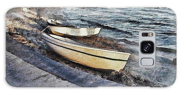 Boats At The Bay Galaxy Case