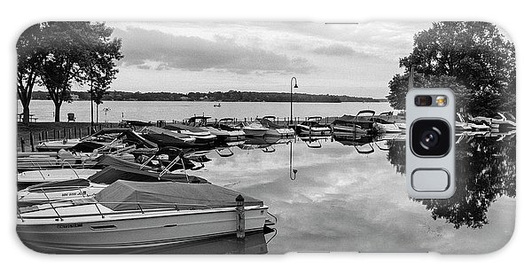 Boats At Wayzata Galaxy Case