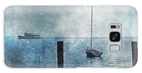 Boats In The Fog Galaxy Case