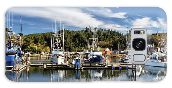 Galaxy Case featuring the photograph Boats In Winchester Bay by James Eddy
