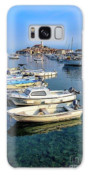 Boats Of The Adriatic, Rovinj, Istria, Croatia  Galaxy Case