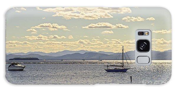 Boats On Lake Champlain Vermont Galaxy Case