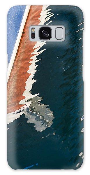Boatside Reflection Galaxy Case