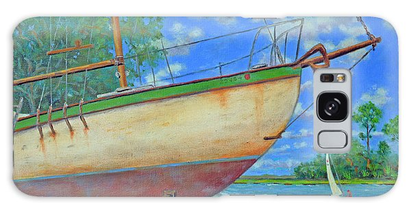 Boatyard On Shem Creek Galaxy Case