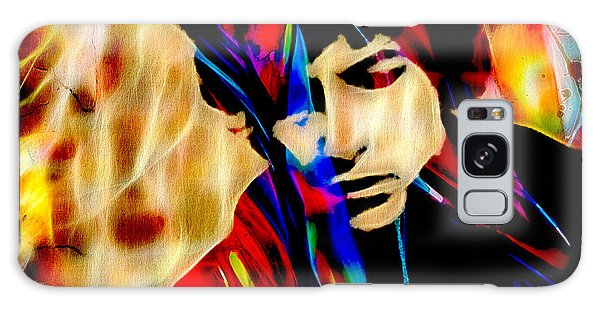 Folk Singer Galaxy Case - Bob Dylan Collection by Marvin Blaine