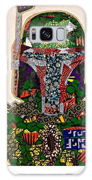 Boba Fett Star Wars Afrofuturist Collection Galaxy Case by Apanaki Temitayo M