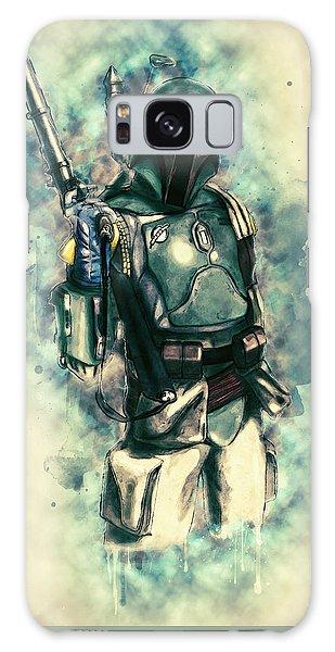 Boba Fett Galaxy Case by Taylan Apukovska