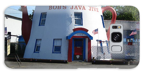 Bob's Java Jive Coffee Pot Galaxy Case