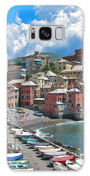 Boccadasse 2-genova, Italy Galaxy Case