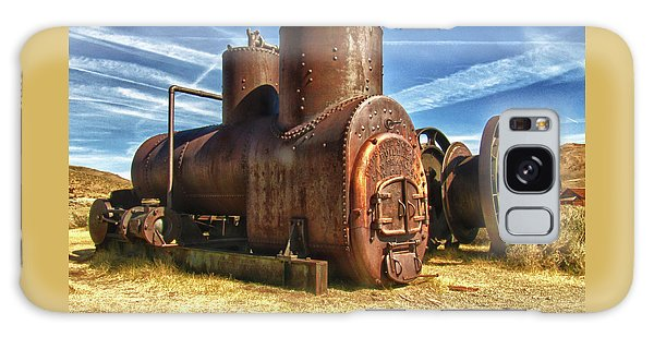 Old Boiler Bodie State Park Galaxy Case by James Hammond