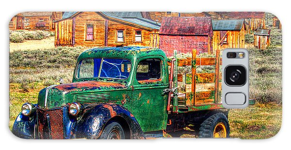 Bodie Ghost Town Green Truck Galaxy Case