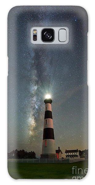 Bodie Galaxy Case - Bodie Island Light Milky Way Portrait by Michael Ver Sprill
