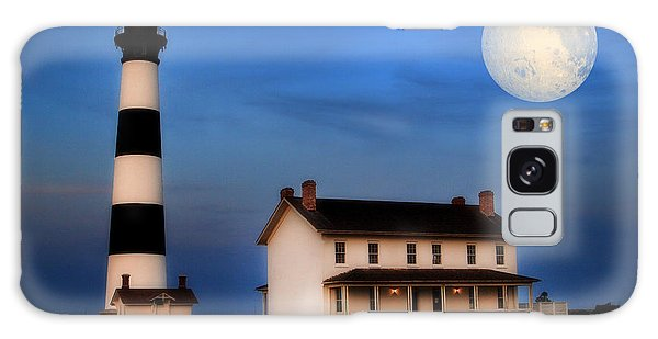 Bodie Island Lighthouse Galaxy Case by Cindy Haggerty