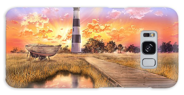 Bodie Galaxy Case - Bodie Island Lighthouse by Bekim M