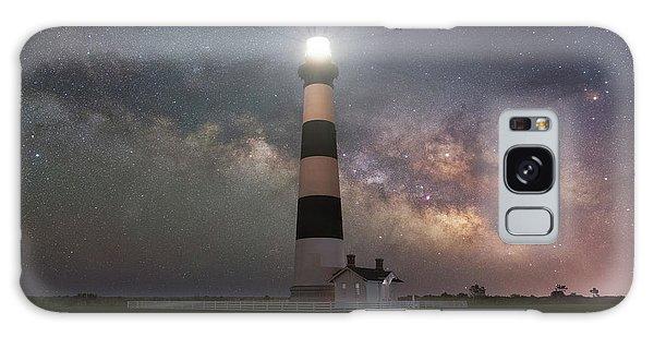 Bodie Galaxy Case - Bodie Island Lighthouse Milky Way Galaxy  by Michael Ver Sprill