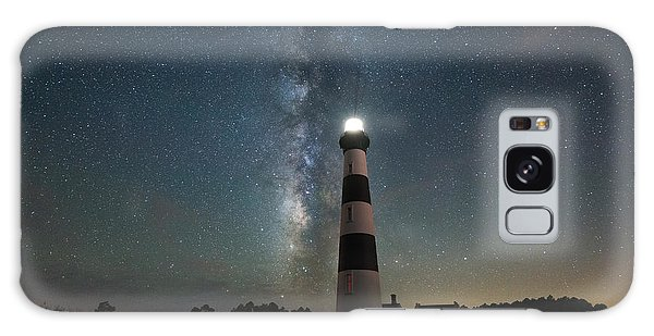 Bodie Galaxy Case - Bodie Island Lighthouse Milky Way by Michael Ver Sprill