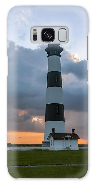Bodie Island Lighthouse Sunset Galaxy Case