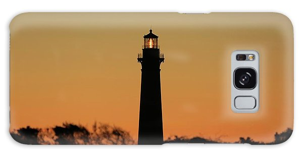 Bodie Light At Sunset Galaxy Case