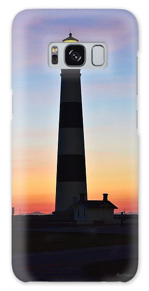 Bodie Lighthouse At Sunrise Galaxy Case