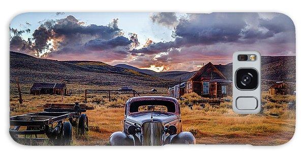 Bodie Galaxy Case - Bodie's 1937 Chevy At Sunset by Jeff Sullivan