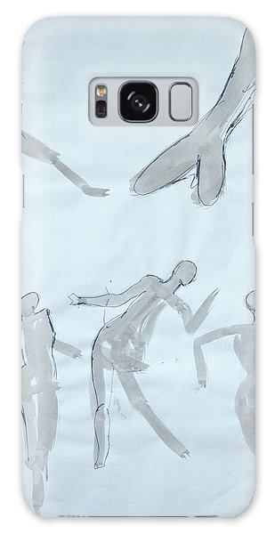 Body Sketches Galaxy Case