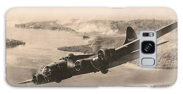 Boeing B-17 Bomb Run 1944 Galaxy Case