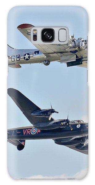 Boeing B-17g Flying Fortress And Avro Lancaster Galaxy Case