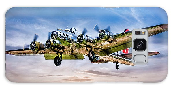 Galaxy Case featuring the photograph Boeing B17g Flying Fortress Yankee Lady by Chris Lord
