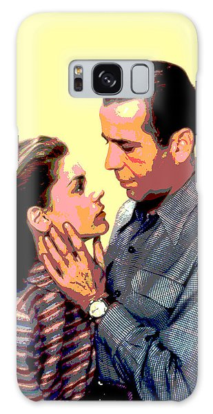 Bogart And Bacall Galaxy Case by Charles Shoup