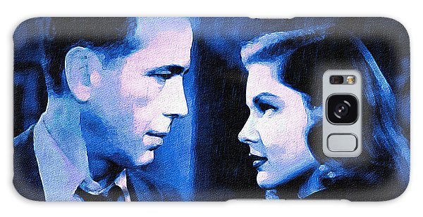 Bogart And Bacall - The Big Sleep Galaxy Case