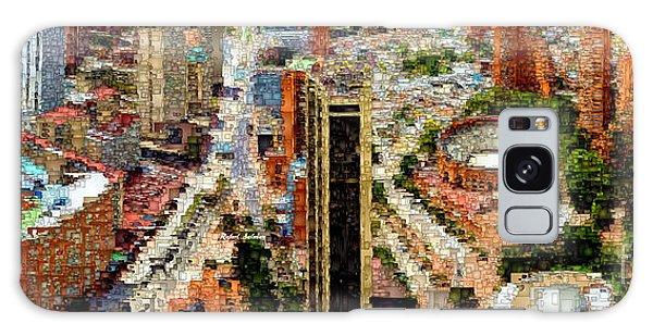 Galaxy Case featuring the digital art Bogota Colombia by Rafael Salazar