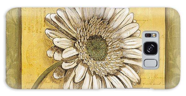 Bloom Galaxy Case - Bohemian Daisy 1 by Debbie DeWitt