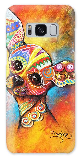 Chihuahua Galaxy Case by Patricia Lintner