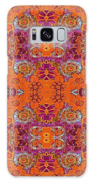 Boho Hippie Garden - Tangerine Galaxy Case