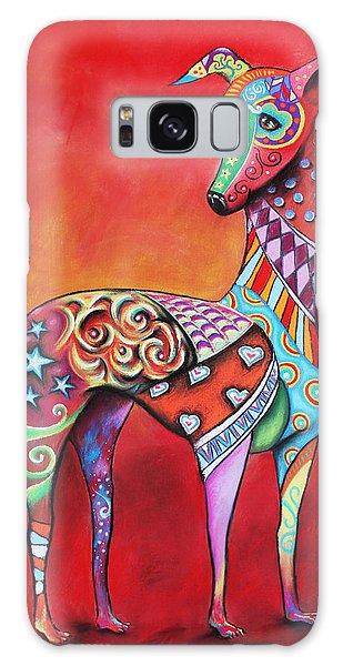 Italian Greyhound  Galaxy Case by Patricia Lintner