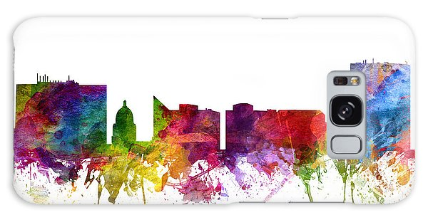 Colours Galaxy Case - Boise Cityscape 06 by Aged Pixel
