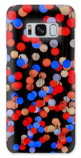 Bokeh Lights Galaxy Case by Ranjini Kandasamy