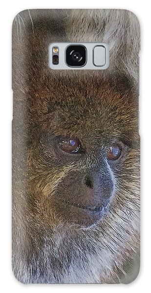 Bolivian Grey Titi Monkey Galaxy Case