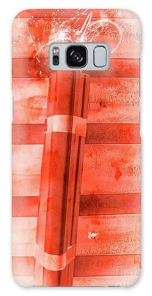 Bomber Galaxy Case - Bomb Of The Betrayal by Jorgo Photography - Wall Art Gallery