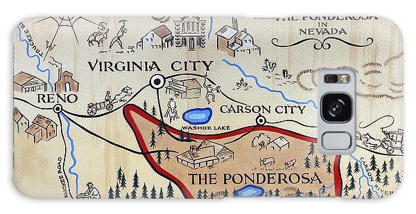 Bonanza Series Ponderosa Map  1959 Galaxy Case