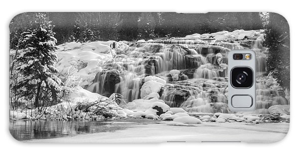 Bond Falls In Black And White Galaxy Case