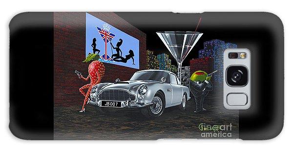 Martini Galaxy S8 Case - Bond by Michael Godard
