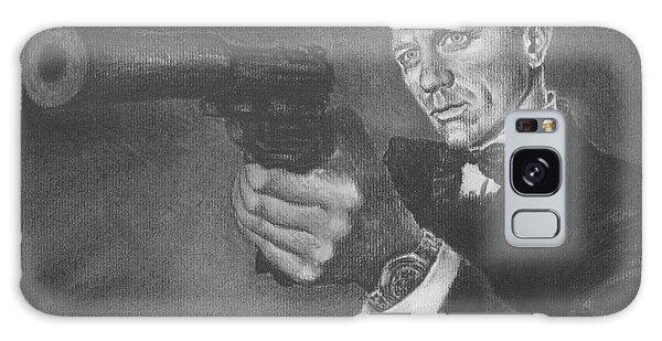 Bond Portrait Number 3 Galaxy Case