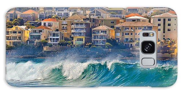 Seaside Galaxy Case - Bondi Waves by Az Jackson