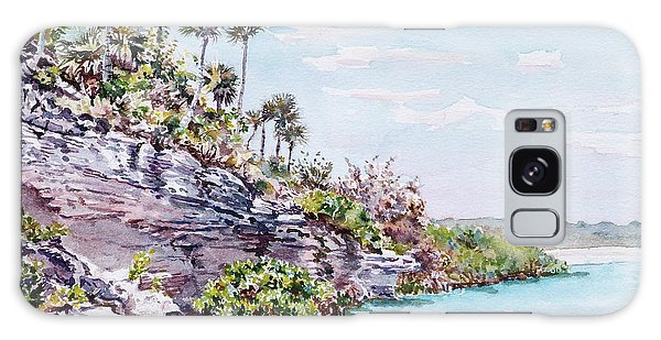 Bonefish Creek Watercolour Study Galaxy Case