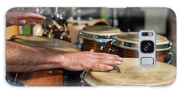 Bongo Hand Drums Galaxy Case