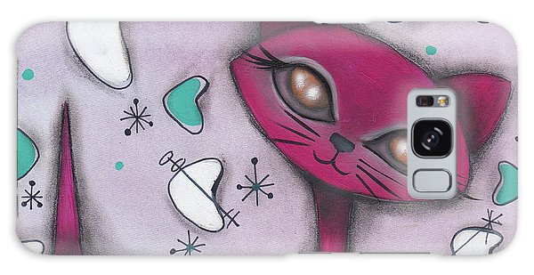 Bonnie Cat Galaxy Case by Abril Andrade Griffith